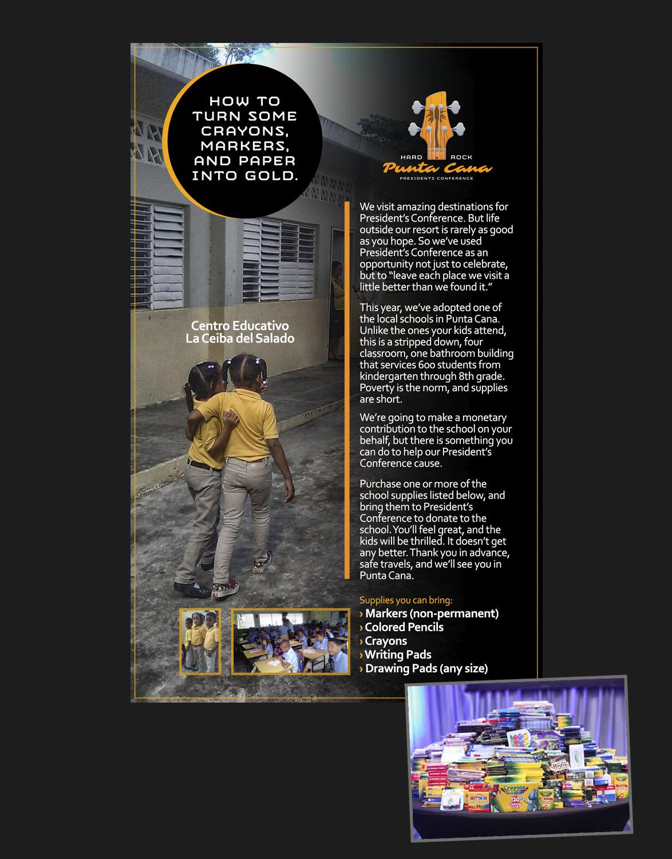Pre-event CSR E-mail