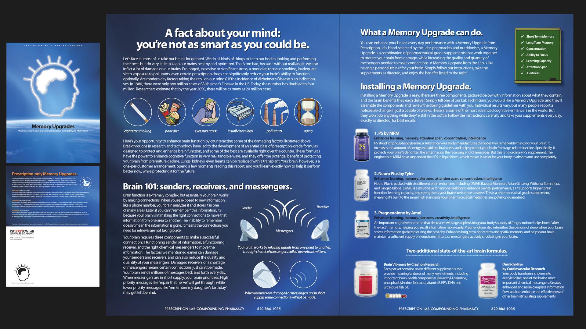 Sales Brochure for Memory Protocol