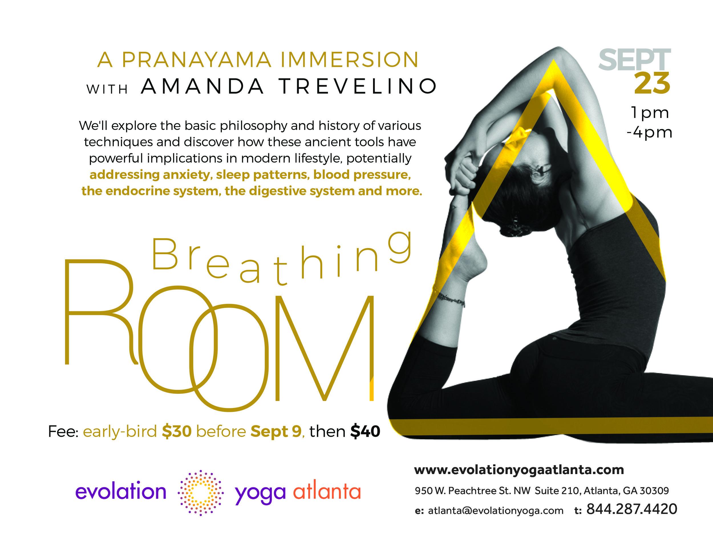 Prenatal teaching event at Evolation Yoga