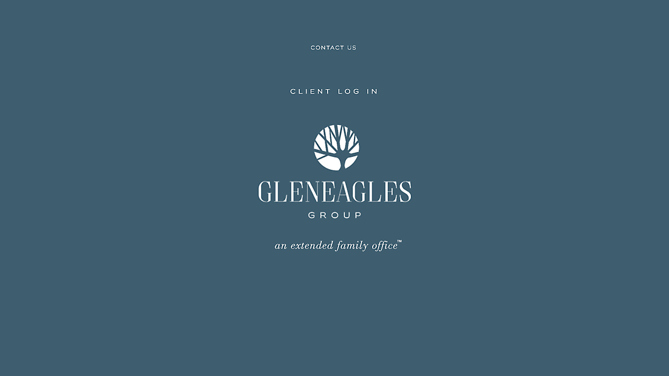 Landing page for Gleneagles Group rebrand