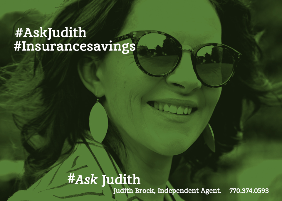 Facebook campaign for Judith Brock Insurance
