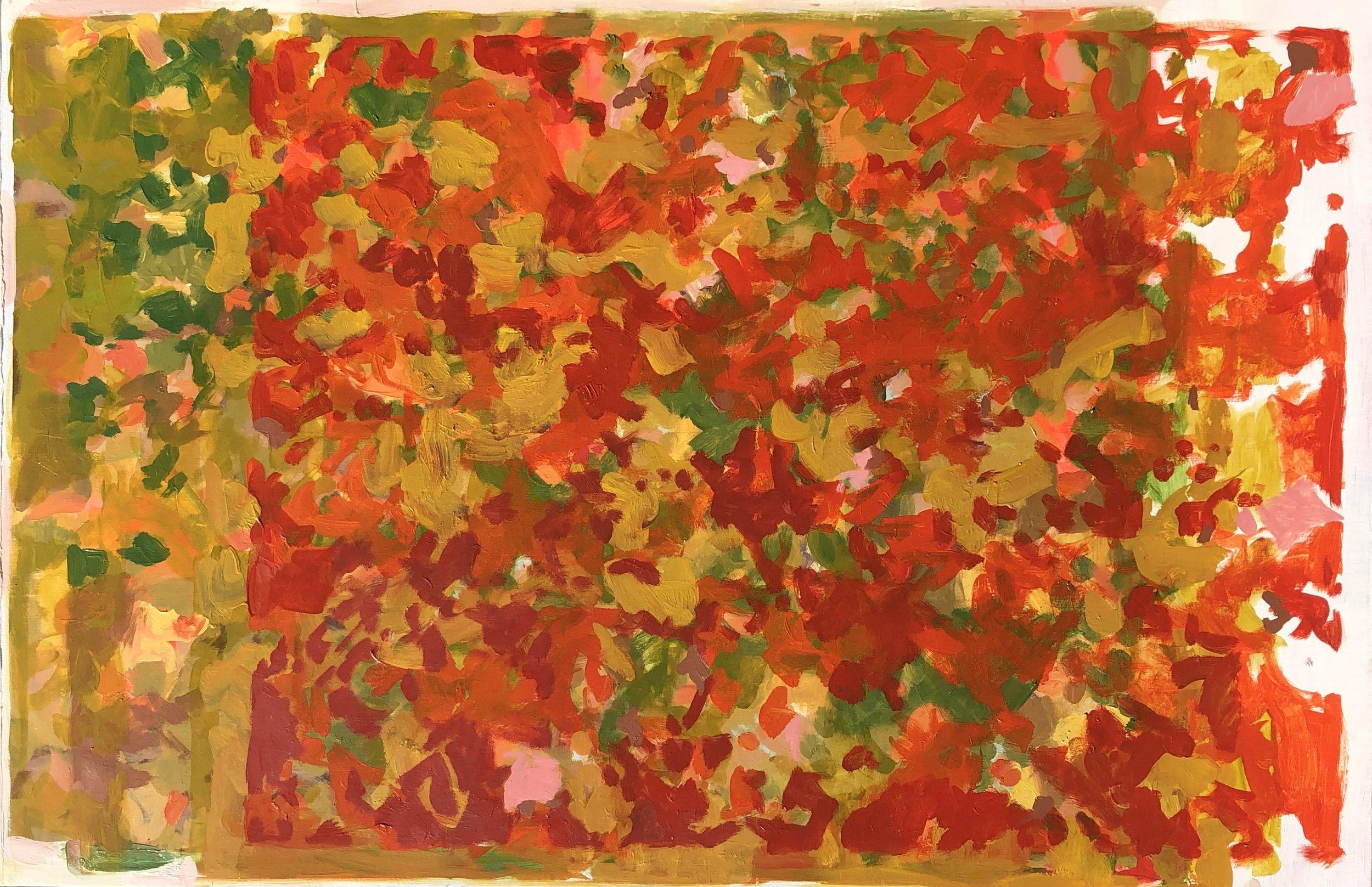 Ground Leaves (34x52)