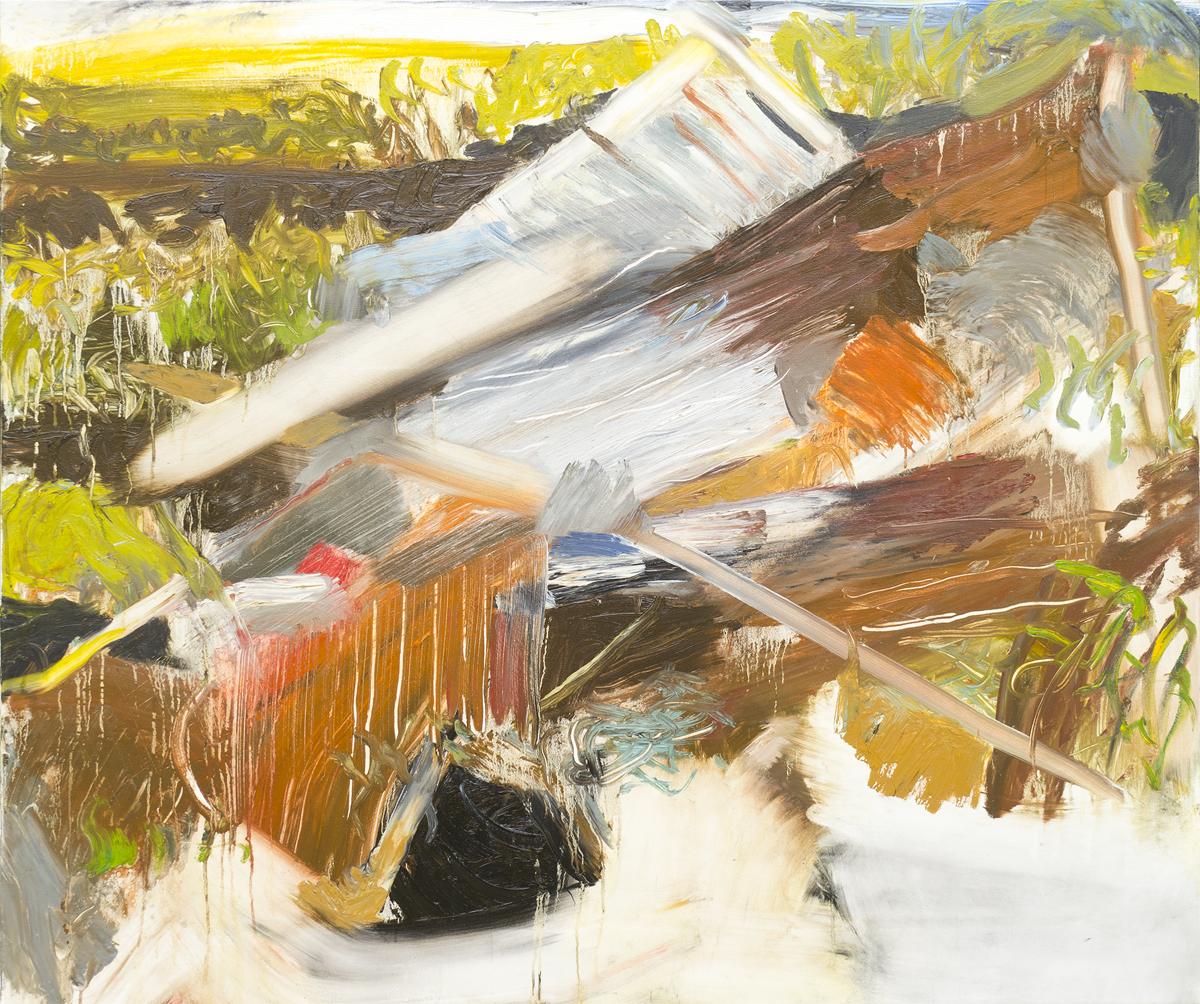Fallen Shed (44x52)