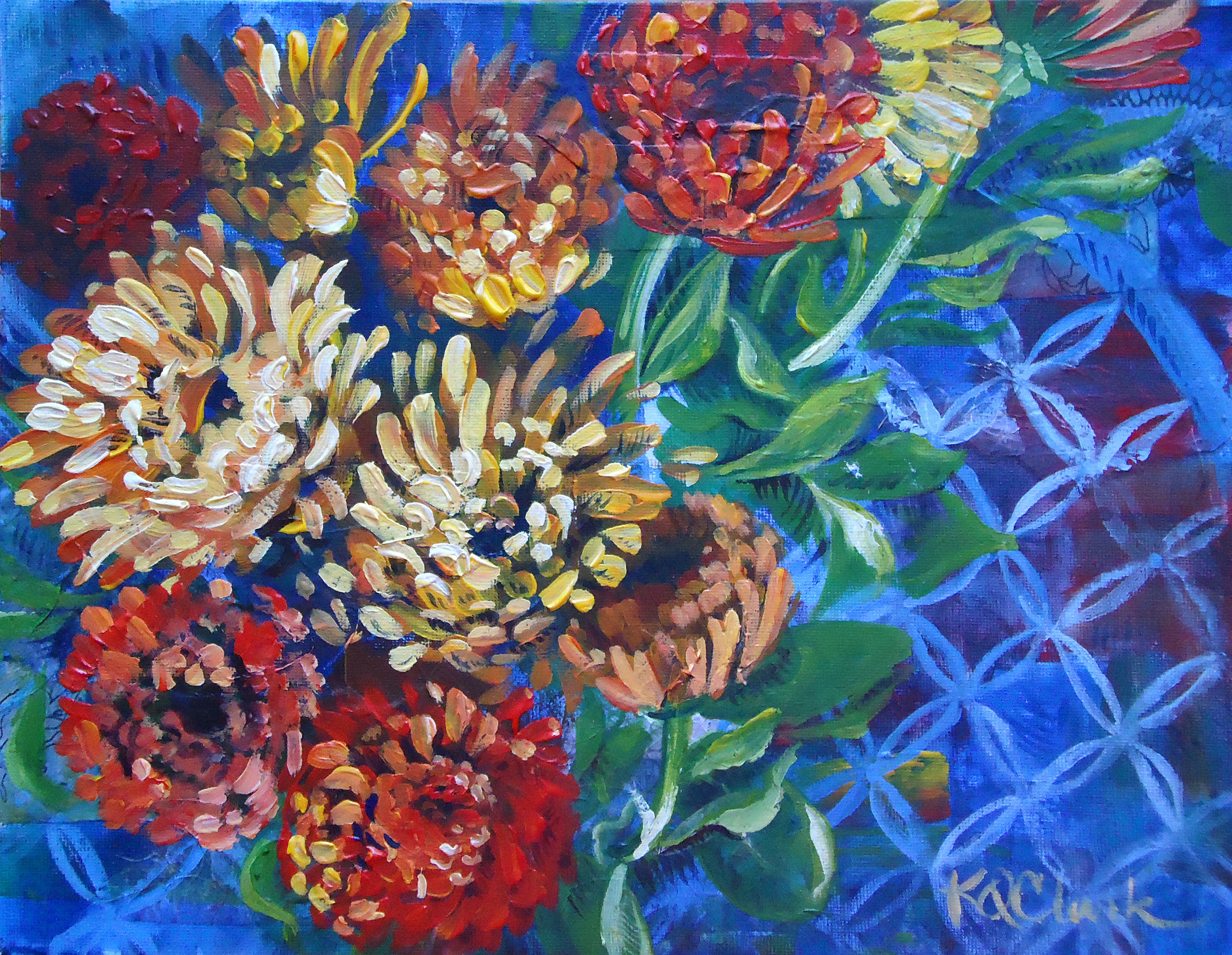 "MASON MUMS | 11x14"" acrylic on canvas"