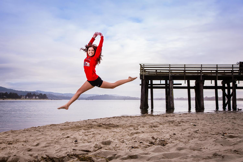 Dance Team Senior Pictures - Albany Oregon