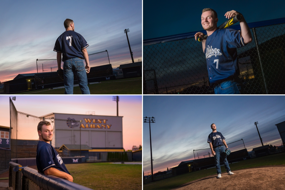 Pictures on the West Albany Baseball Field