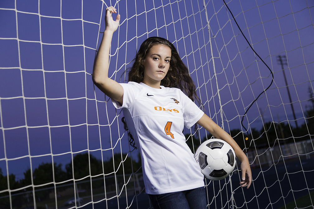 Soccer Senior Pictures - Salem Oregon