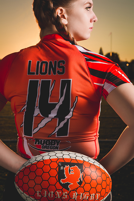 Rugby Senior Pictures - Albany Oregon