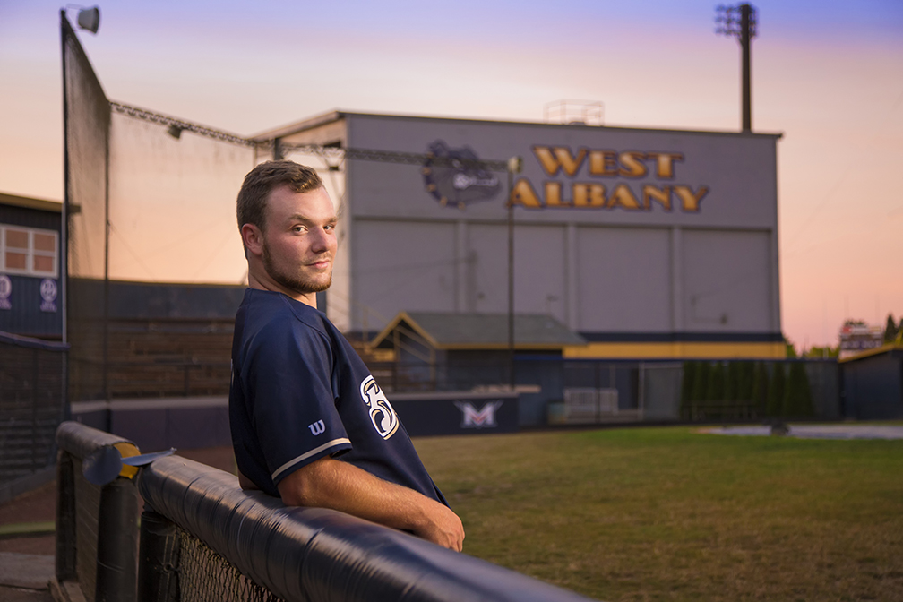 Baseball Senior Pictures - Albany Oregon