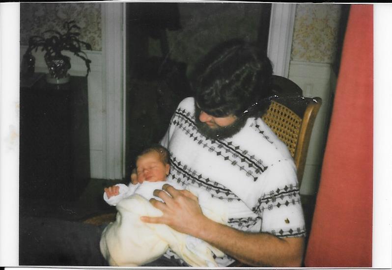 Dad and I, Janurary 1978