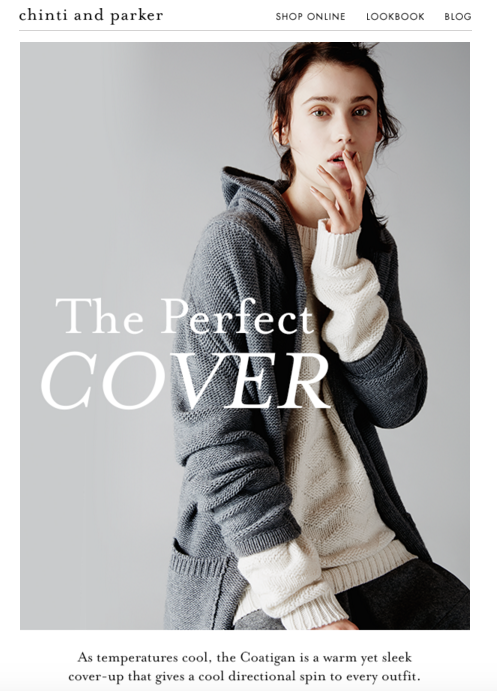fashion copywriter