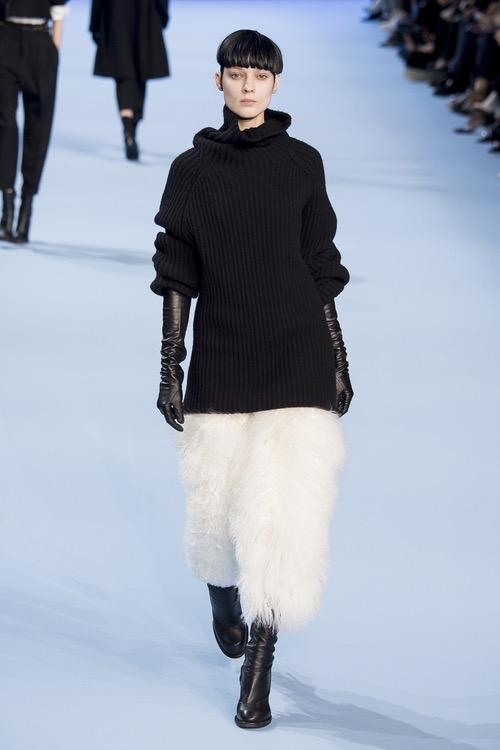 A look from Haider Ackermann AW17 at Paris Fashion Week
