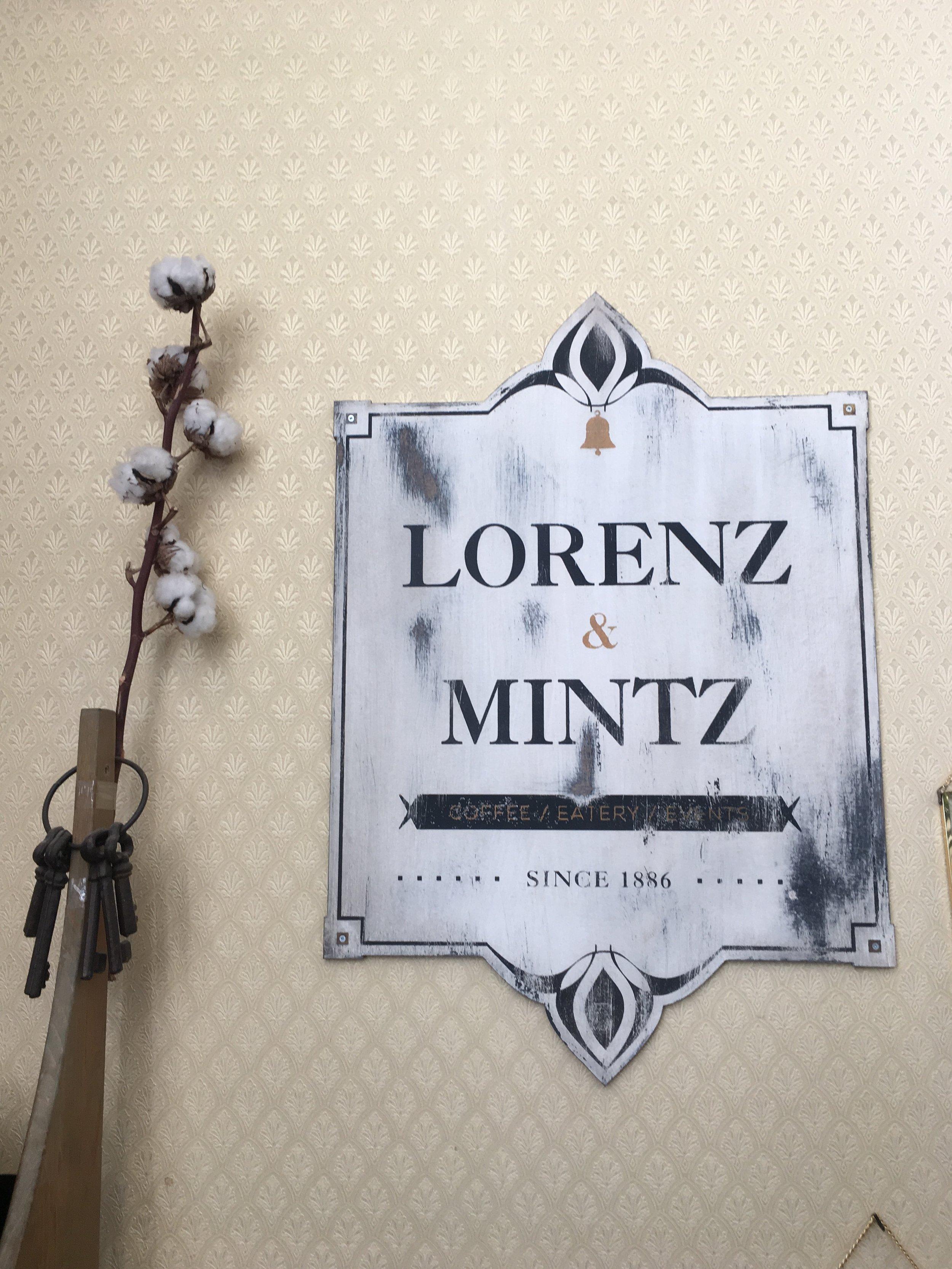 So many pretty details at Lorenz & Mintz in Neve Tzedek.