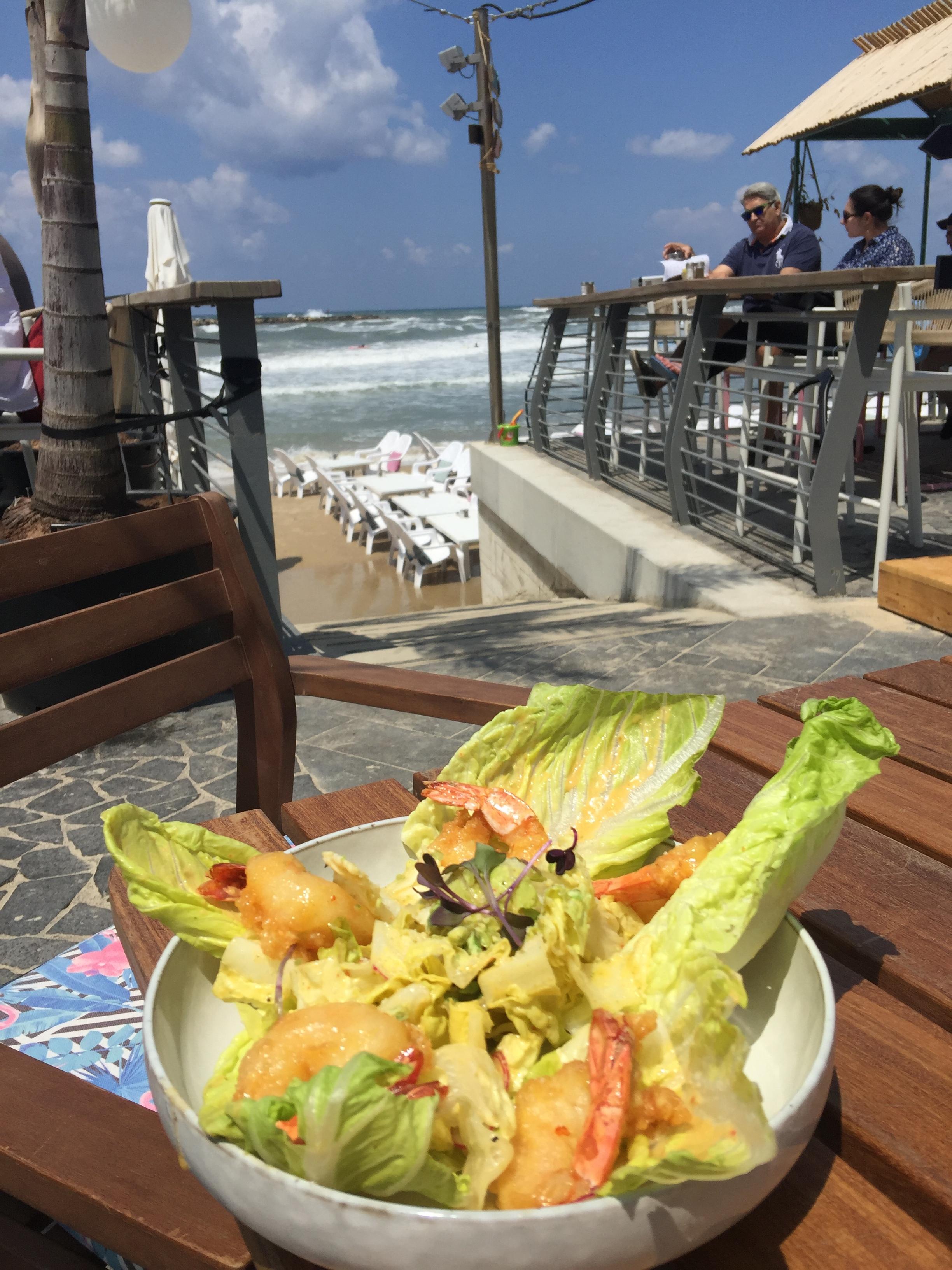 The Japanese Caesar Salad at said random surf bar we kept going back for.