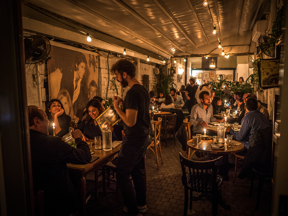 Dinner at Dalida in Tel-Aviv, a laidback atmosphere with serious foodie cred.
