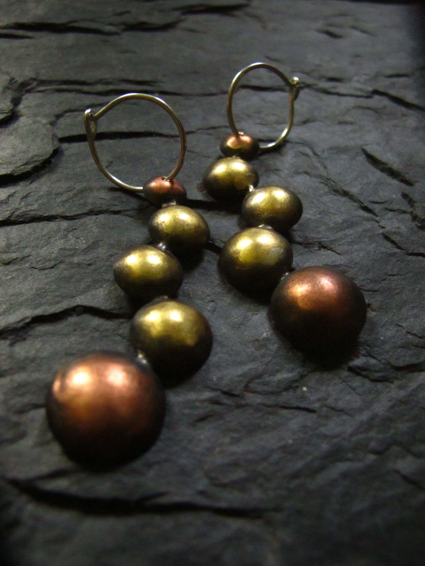 Casacading zig-zag earrings