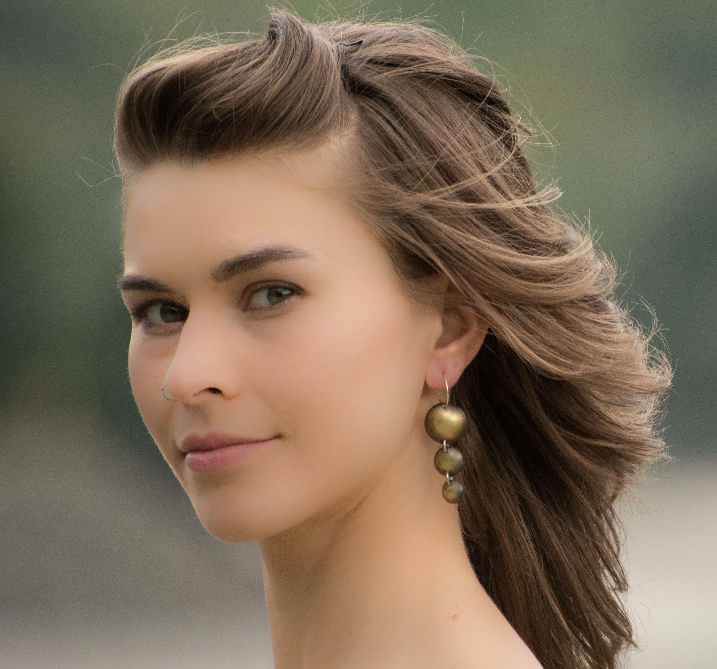 Cascading droplet earrings