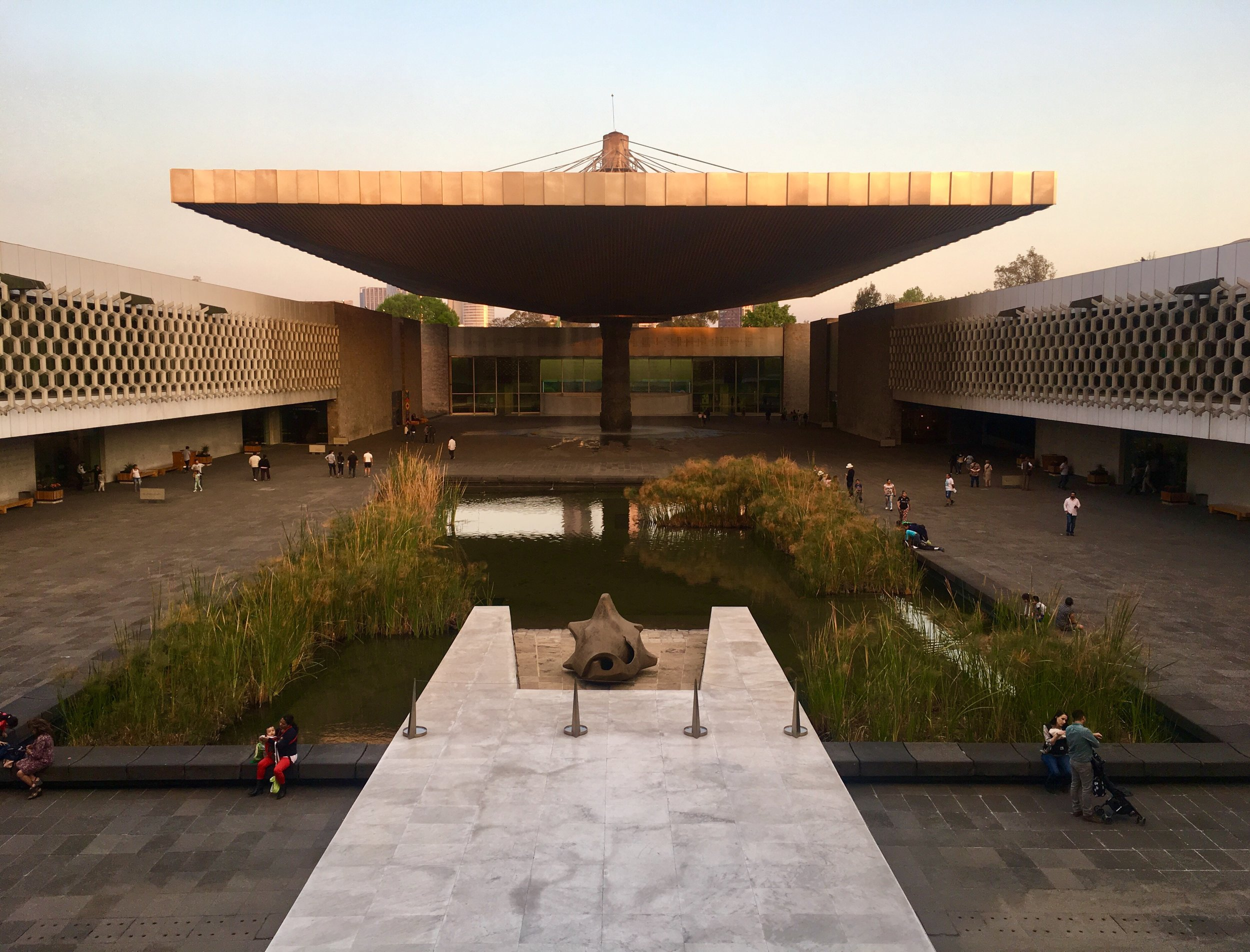 The National Museum of Anthropology in Mexico City