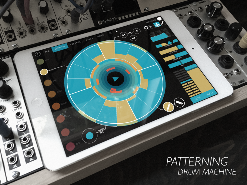 Patterning : Drum Machine // Percussive Sound Design for iOS Application