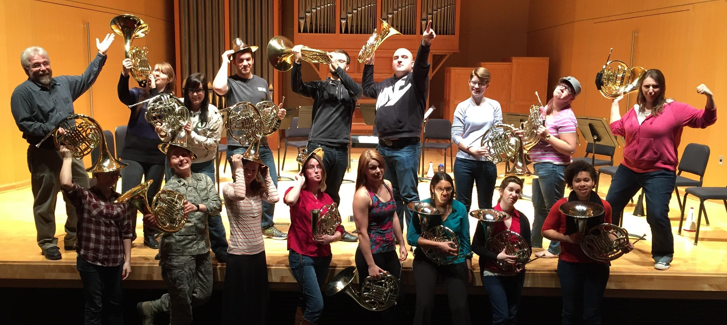 Central Washington University Horn Ensemble