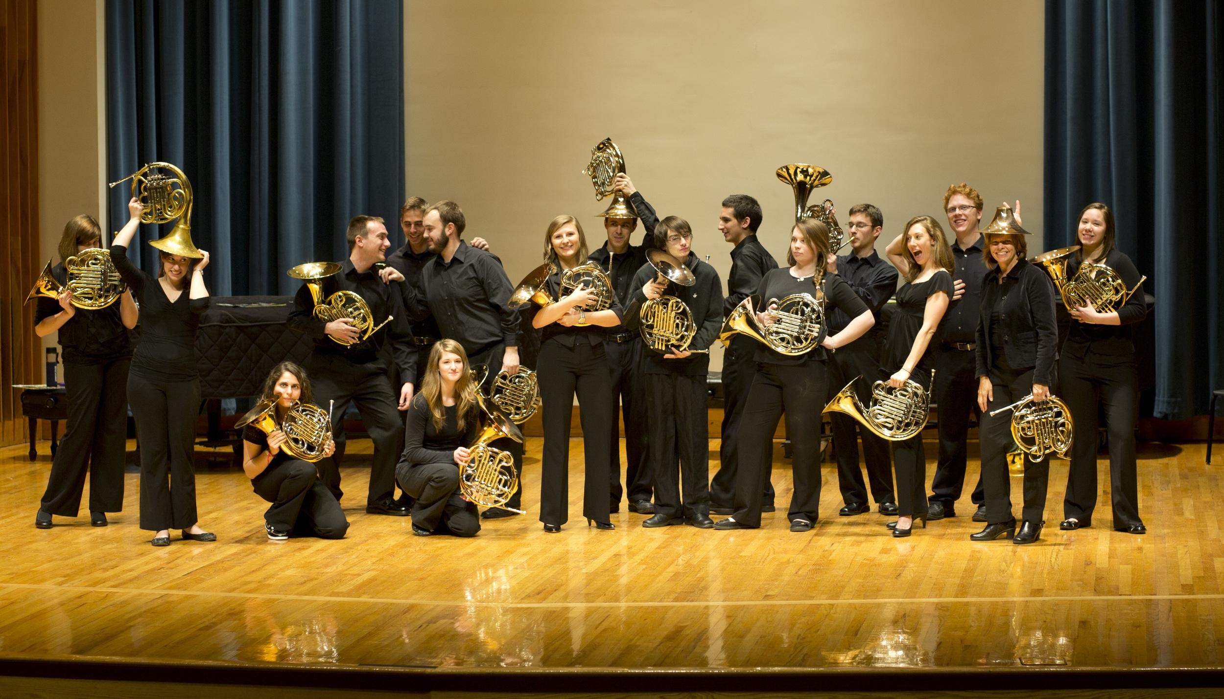 Penn State Horn Ensemble  (Photo Credit: Jana Bontrager)