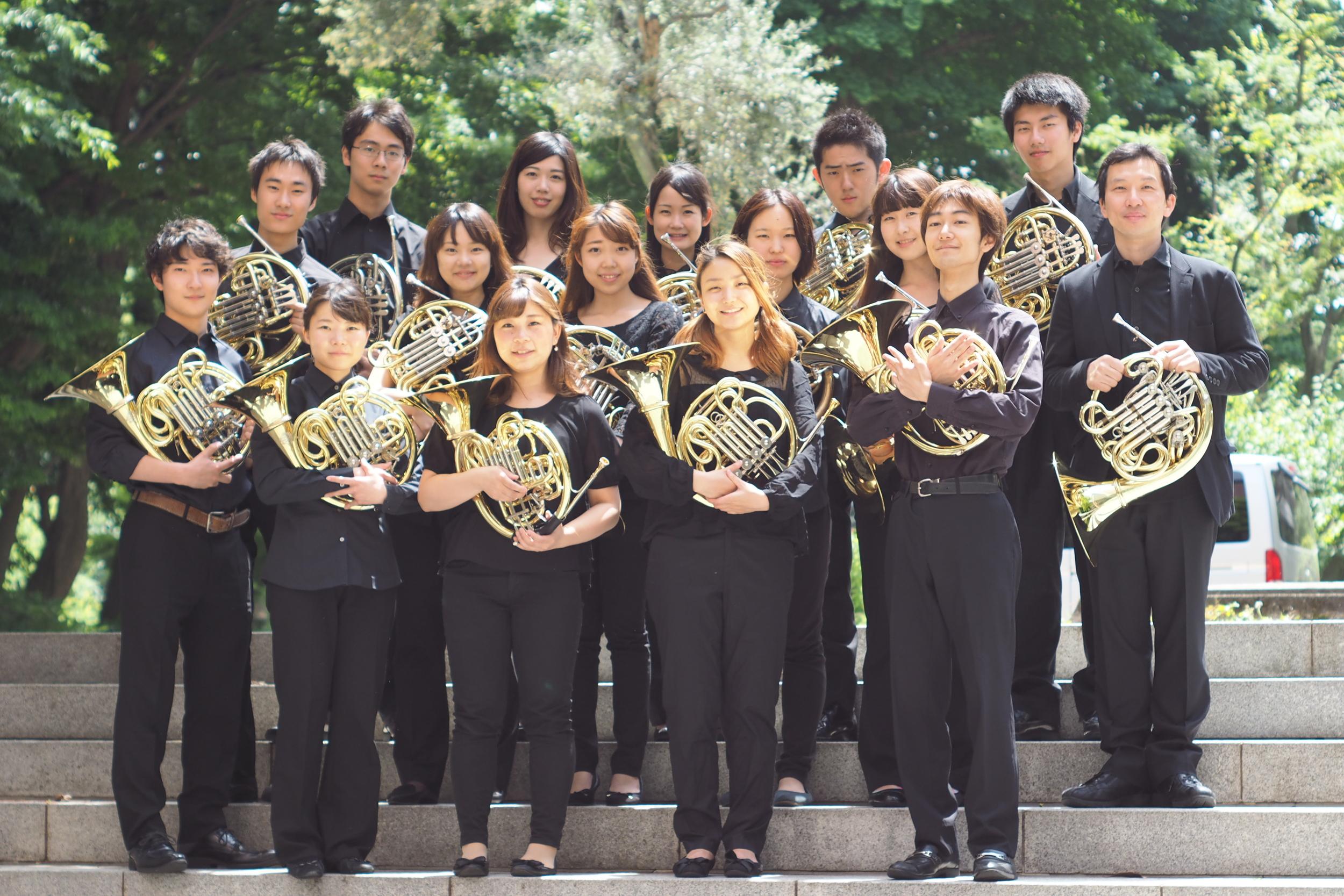 Tokyo University of the Arts:  Geidai Horn Ensemble