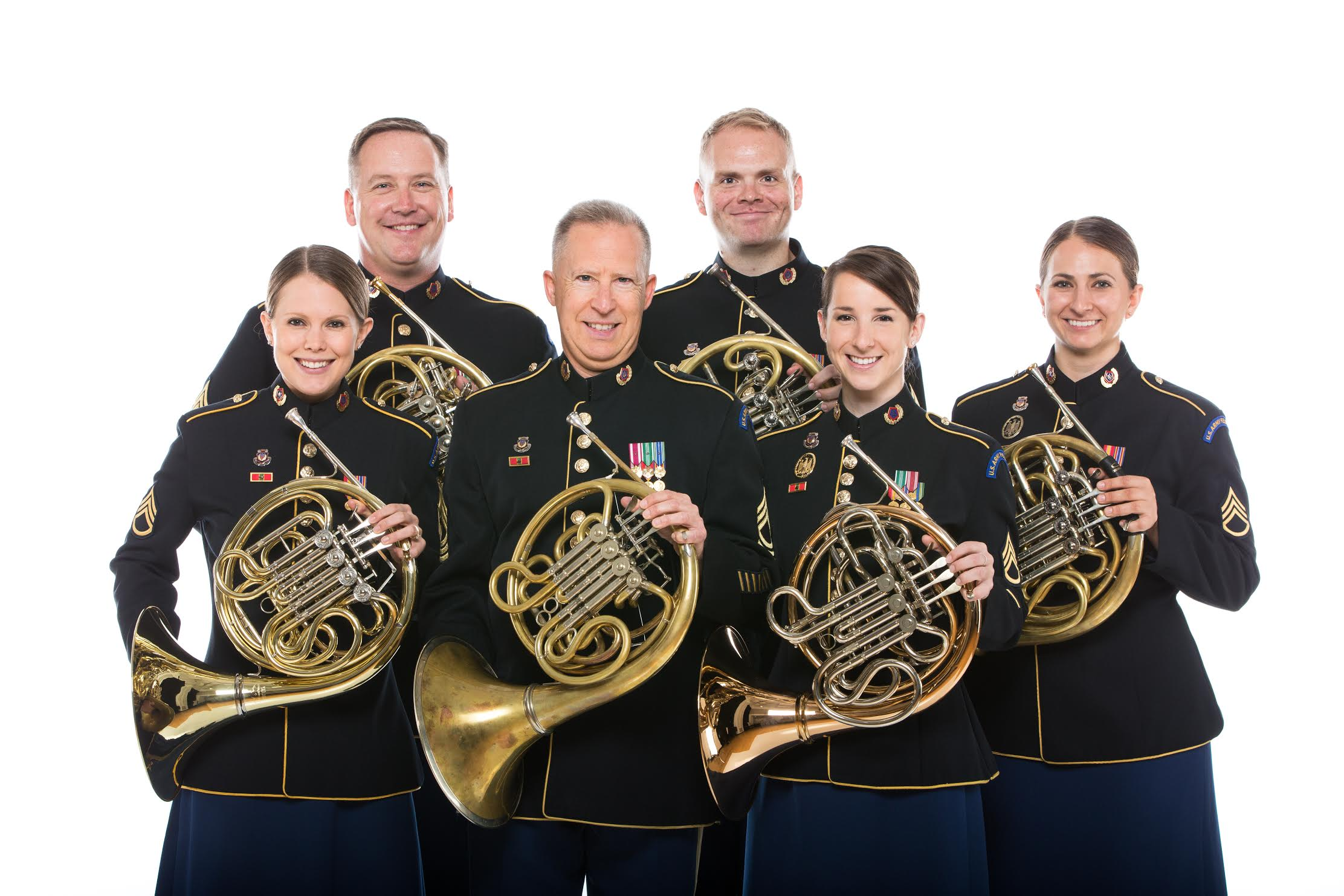 The United States Army Field Band Horn Section