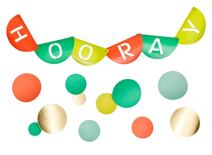 Hooray banner by Oh Joy! For Target