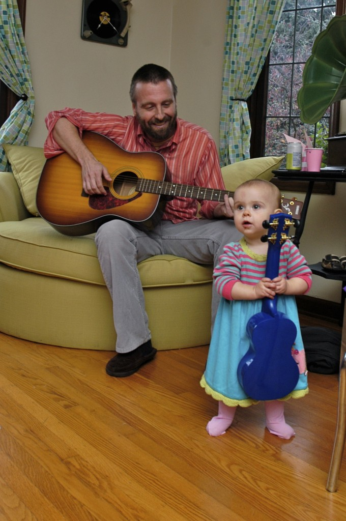 "Hattie's daddy breaking into the ""Kindie-rock"" scene with a special song he wrote for his baby girl about being different."