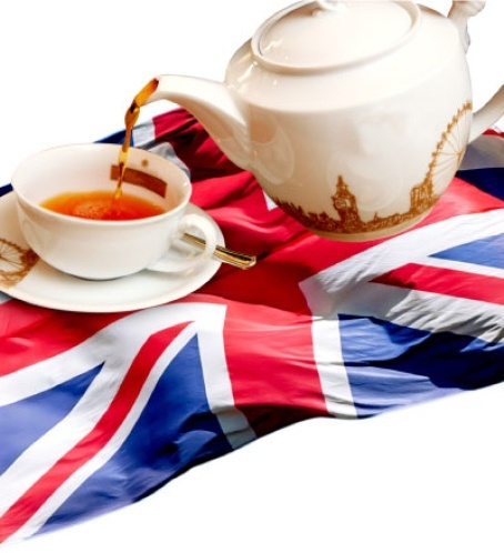 British flags would be used as decoration, and English-style tea would be served.