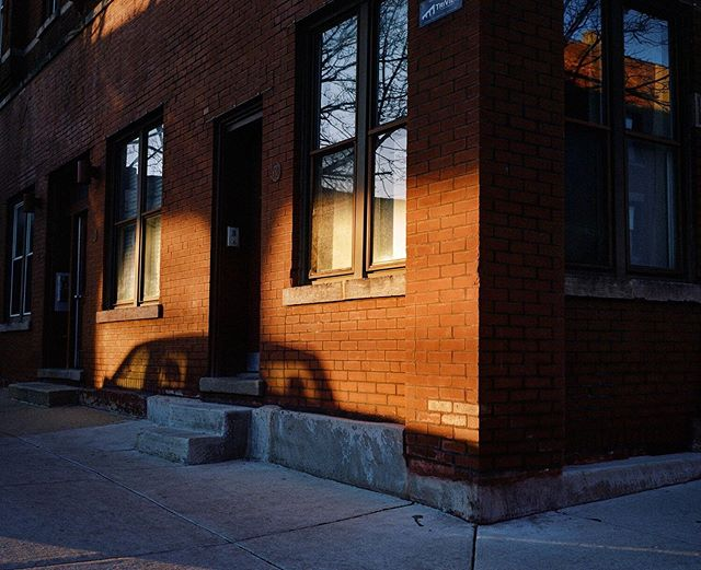 Late afternoon light in the city. #ektar100 #statefilmlab