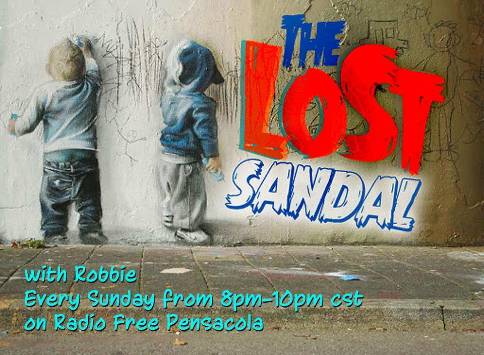 Hosted by Robbie Leggett every Sunday night from 8pm to 10 pm CST, The Lost Sandal is an avenue to discover and share the coolest grooves, the freshest beats, the sickest tracks, and what is happening now on the cutting edge of indie and alternative music.