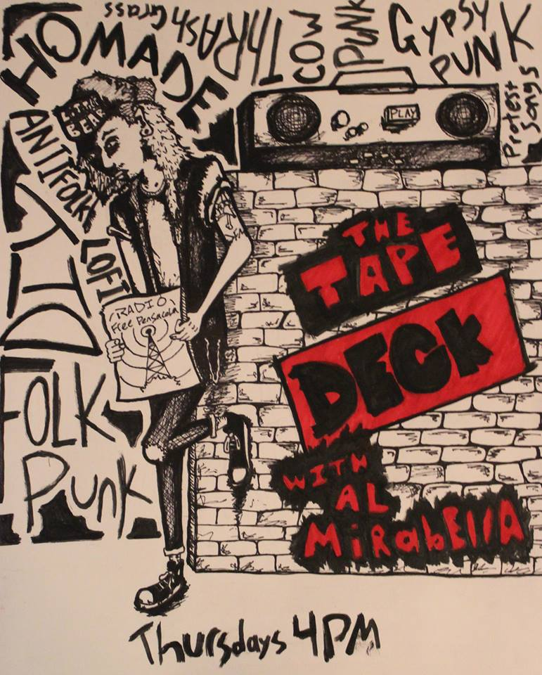 The Tape Deck -DIY and Independent Punk and Folk Punk, presented by your two favorite troublemakers: Al Mirabella and Josh Hart! Each week we listen to standards of the DIY scene as well as bedroom recordings, demos, and cassette releases from artists all over the globe!