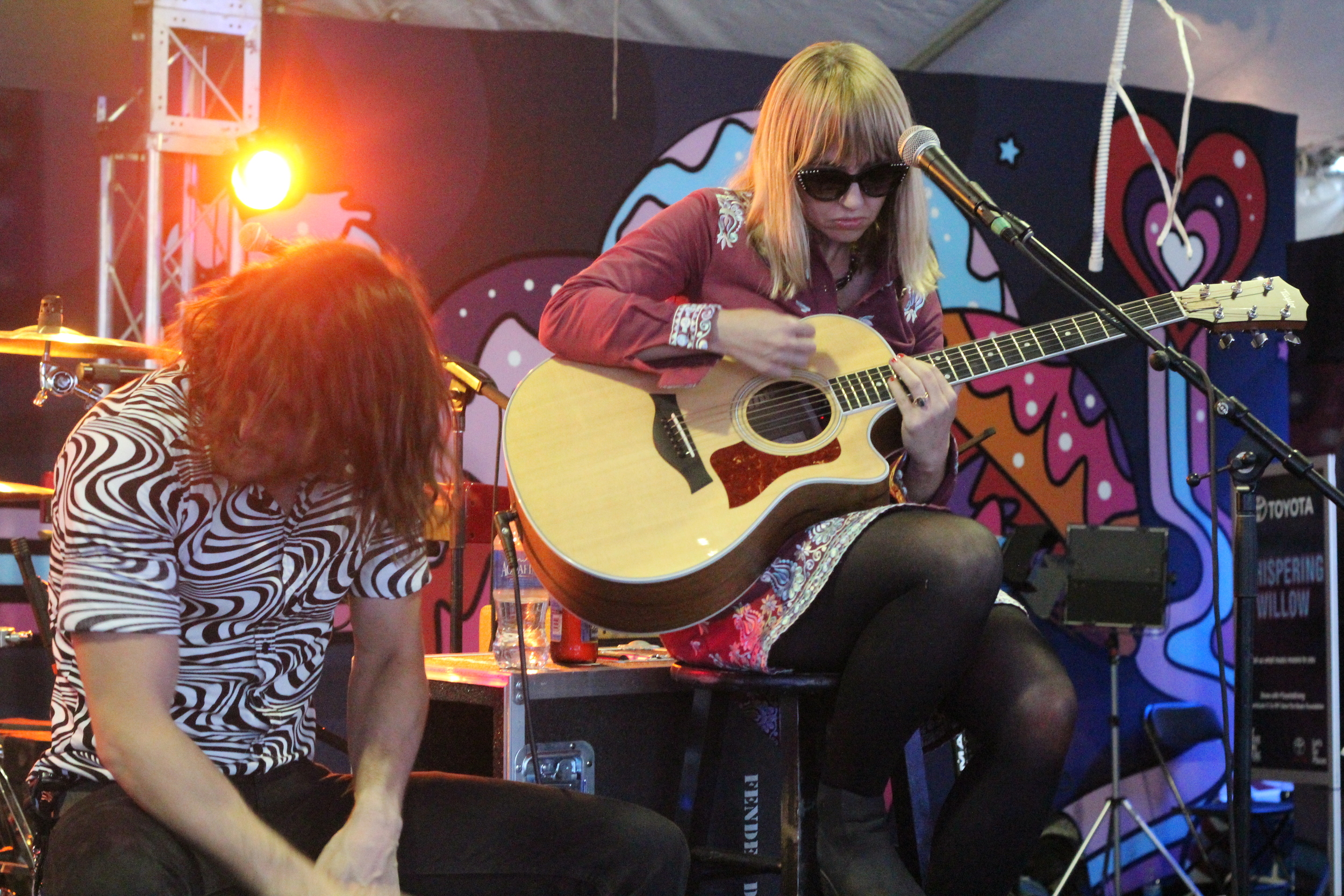 The Joy Formidable in the Toyota Music Den