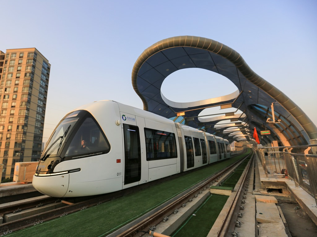 Wuhan Optics Valley Tram - Composite Structure  (NEW)
