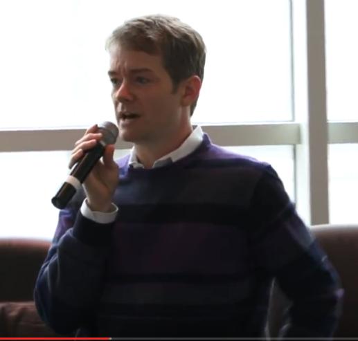 Jared Redick presents to Humanities PhDs at the Sacramento UCHRI Gathering in November 2015.