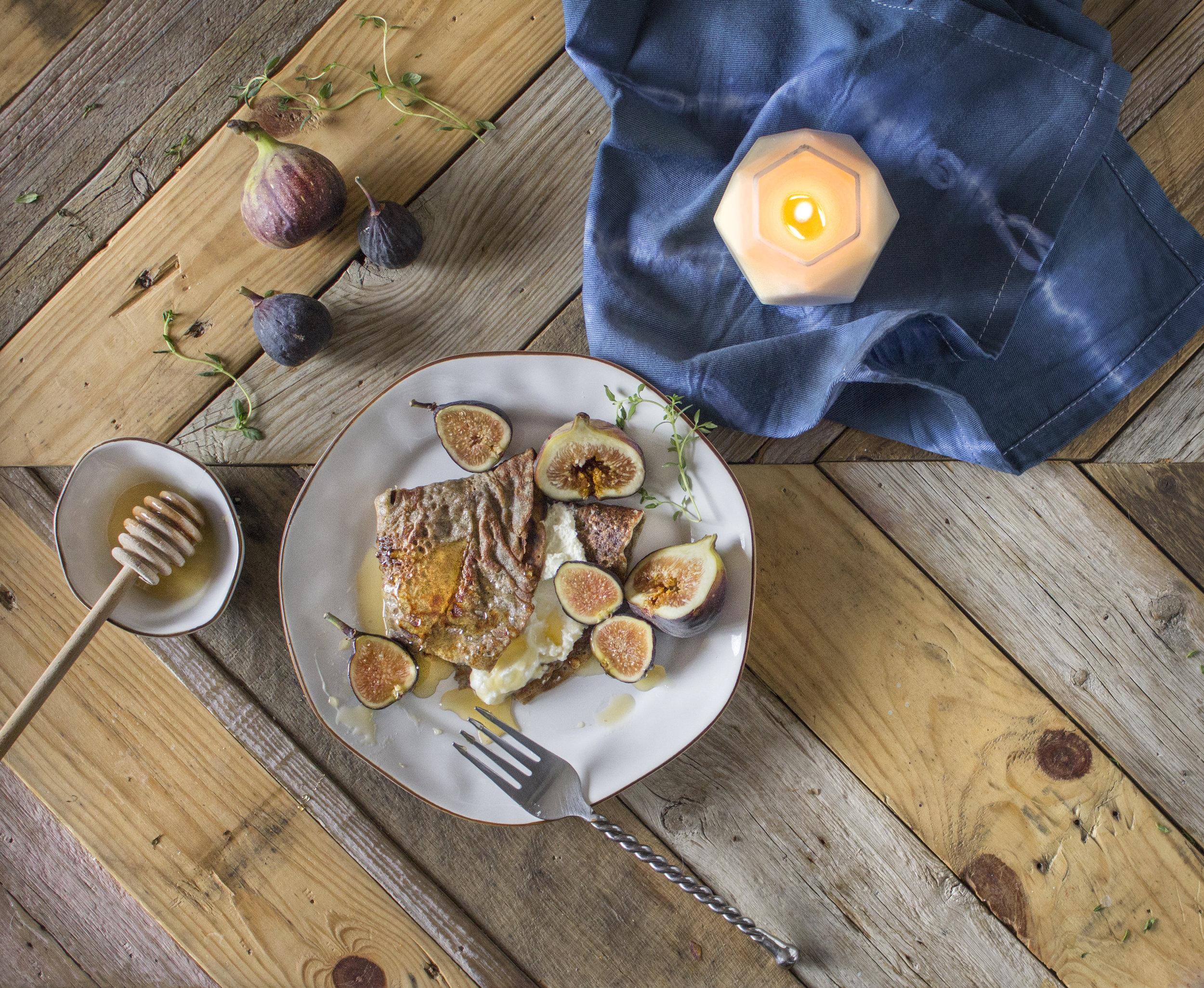Buckwheat Crepes by Sweet Laurel