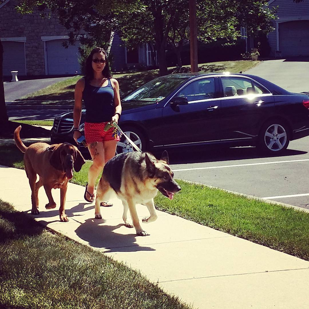 Christina with clients Hops & Ares