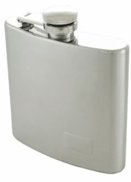 This stainless steel flask makes a great gift for your plastic free Valentine.