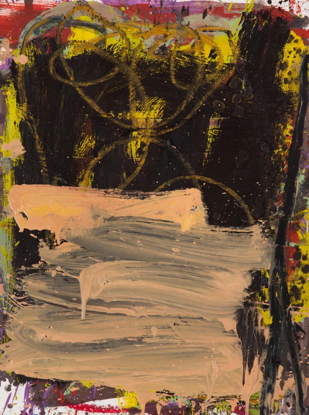 Break in Two  , oil on paper, 24x18 in. ©Denise Gale 2015