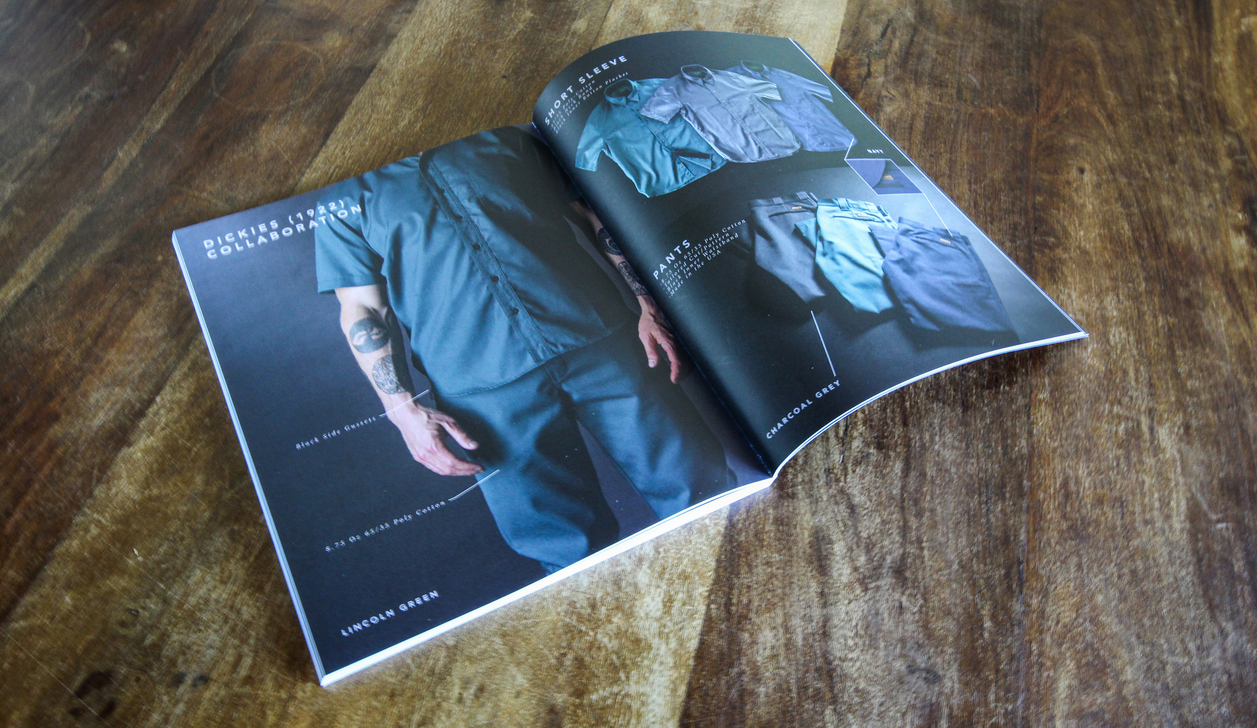 Black Bear Brand Lookbook publication catalog