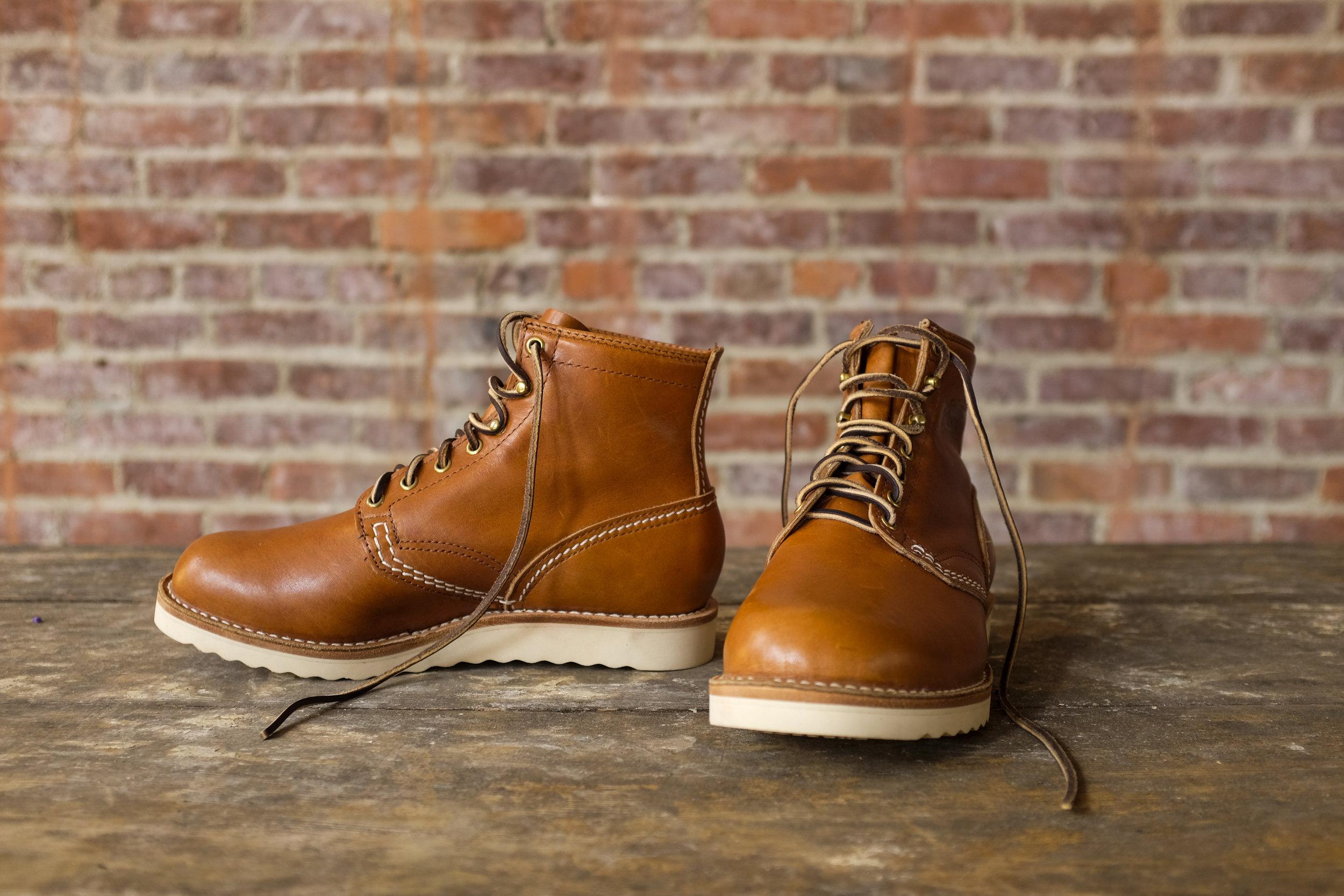Horween Leather Wesco Boots Black Bear Brand Rio Latigo jobmaster