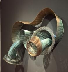 Cool Heat: Ceramics and Sculpture by Caroline Blackburn, Virginia Harrison & Nan Wollman   Offramp Gallery Pasadena, CA  May 2015