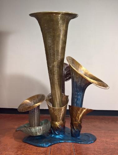 Sculptures by Virginia Harrison    Peninsula Museum of Art  Burlingame, CA  2014