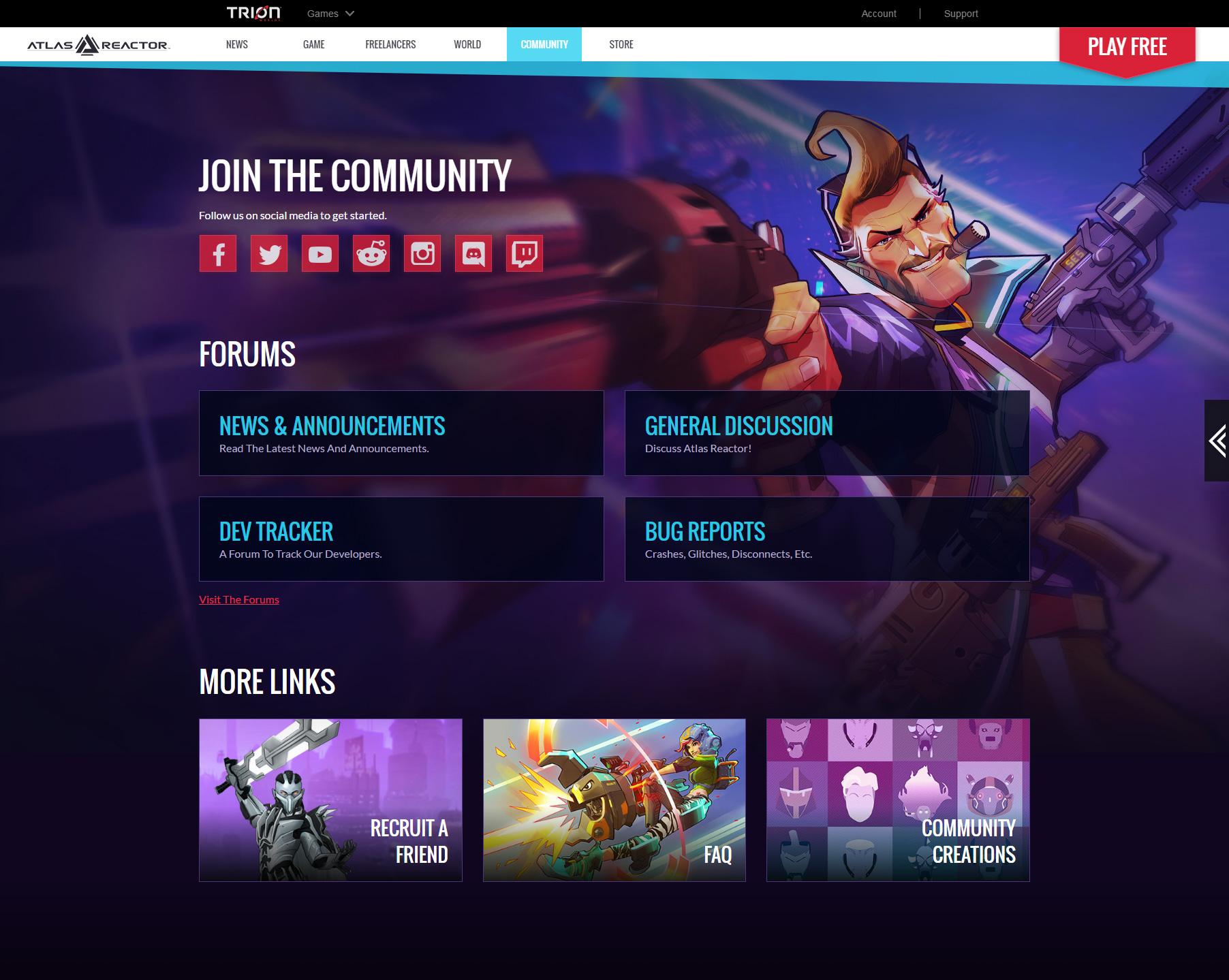 Atlas Reactor - Community