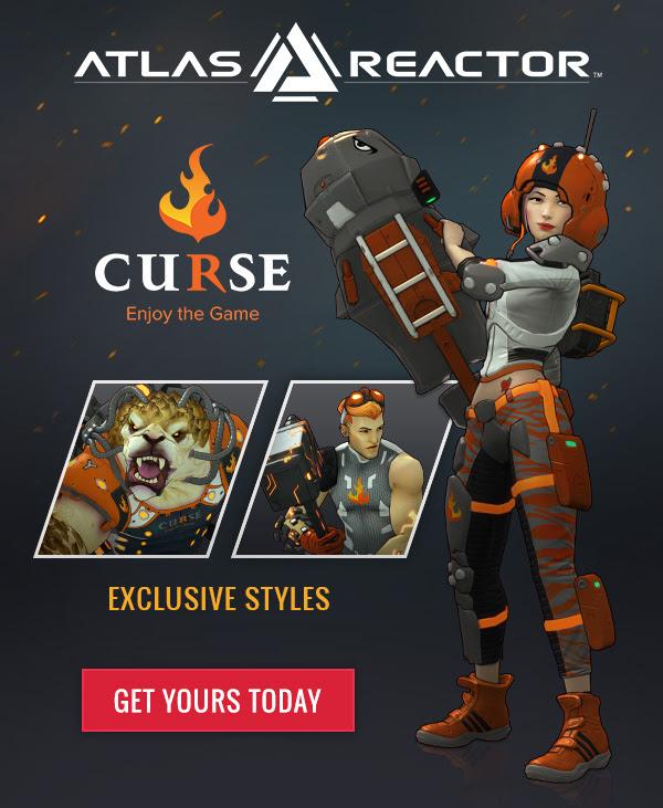 Atlas Reactor + Curse promo