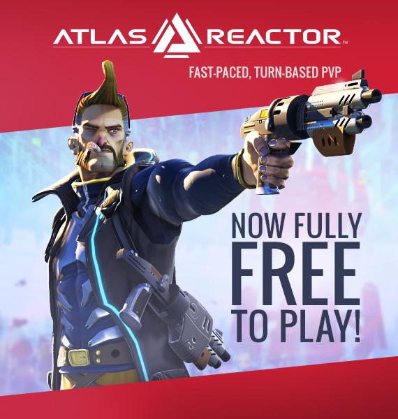 Atlas Reactor Steam Advertisement