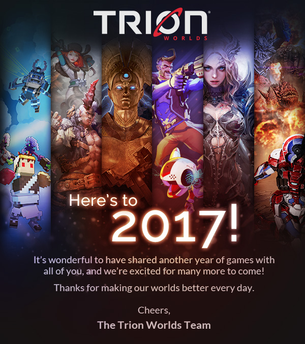 Trion Worlds Email
