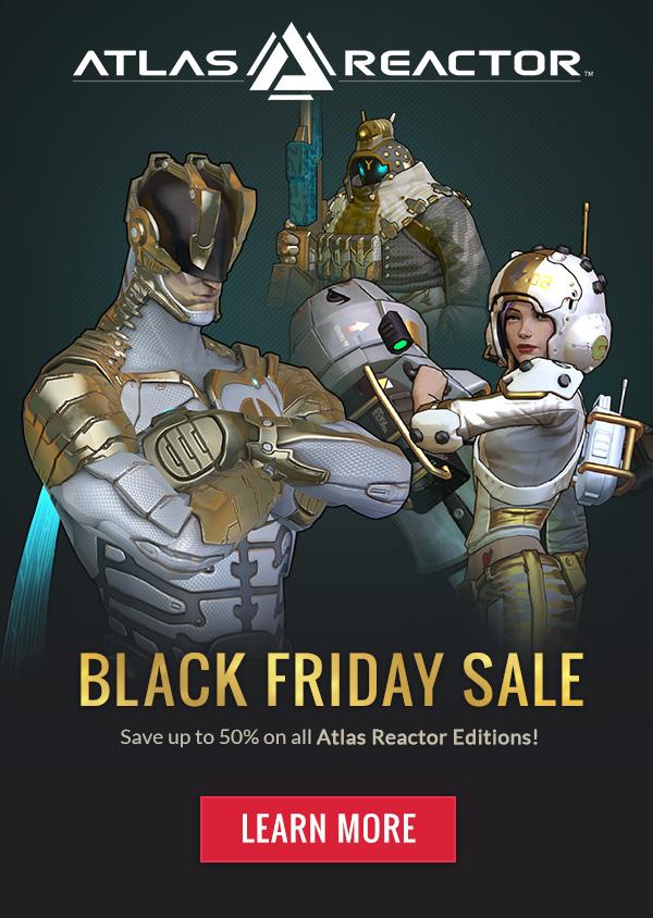 Atlas Reactor Advertisement