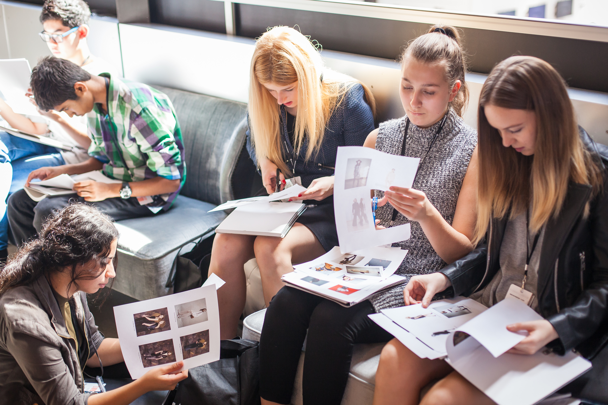 Sorting the latest trends, workshop led by Danica Osland from Vogue Australia